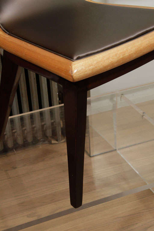 Set of Ten Dining Chairs by James Mont 2