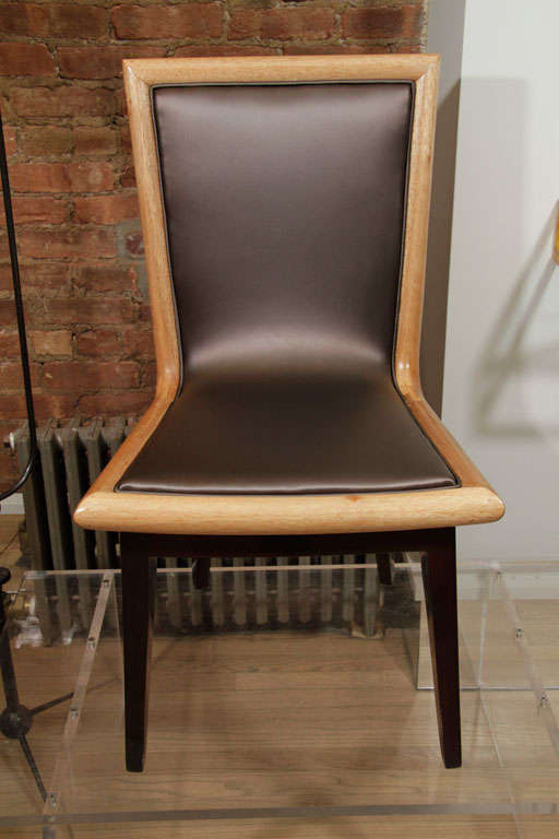 Set of Ten Dining Chairs by James Mont 3