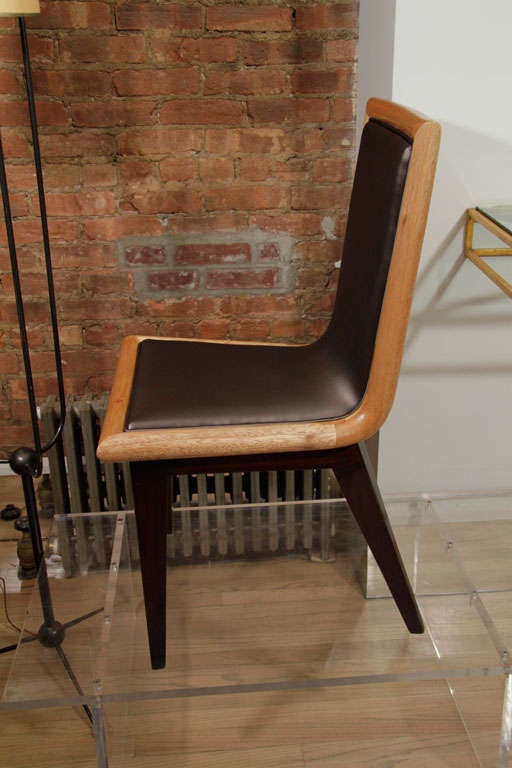 Set of Ten Dining Chairs by James Mont 6
