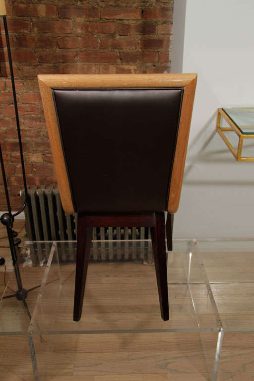 Set of Ten Dining Chairs by James Mont 7