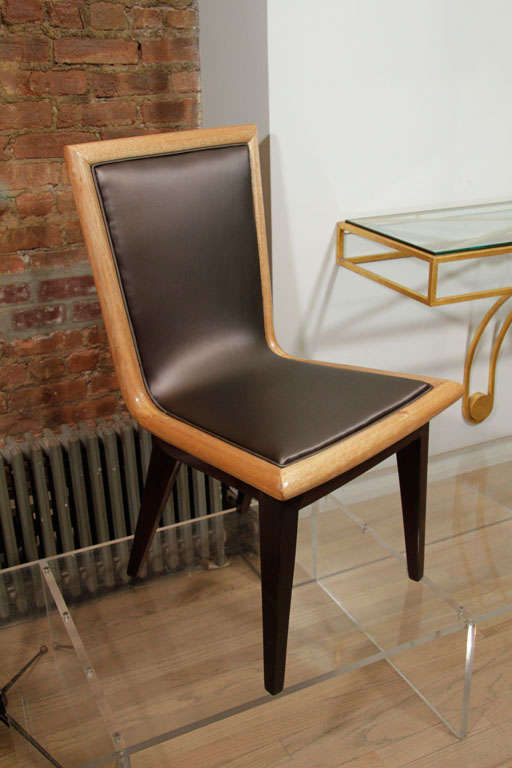 Set of Ten Dining Chairs by James Mont 9