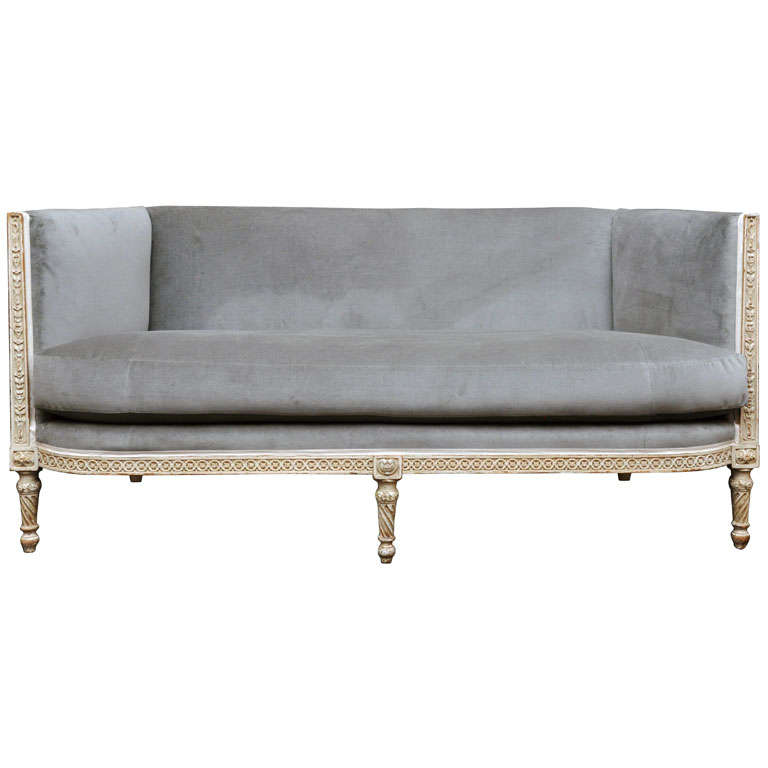 exquisitely carved louis xvi style banquette by jansen at. Black Bedroom Furniture Sets. Home Design Ideas