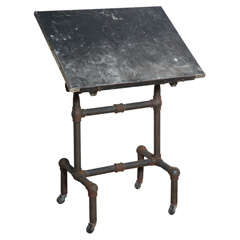Double Pedestal Draughting Table