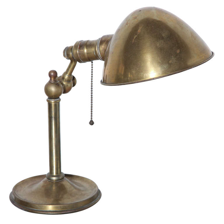 bradley and hubbard brass pharmacy lamp at 1stdibs. Black Bedroom Furniture Sets. Home Design Ideas