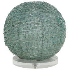 Spherical Glass Shard Lamp