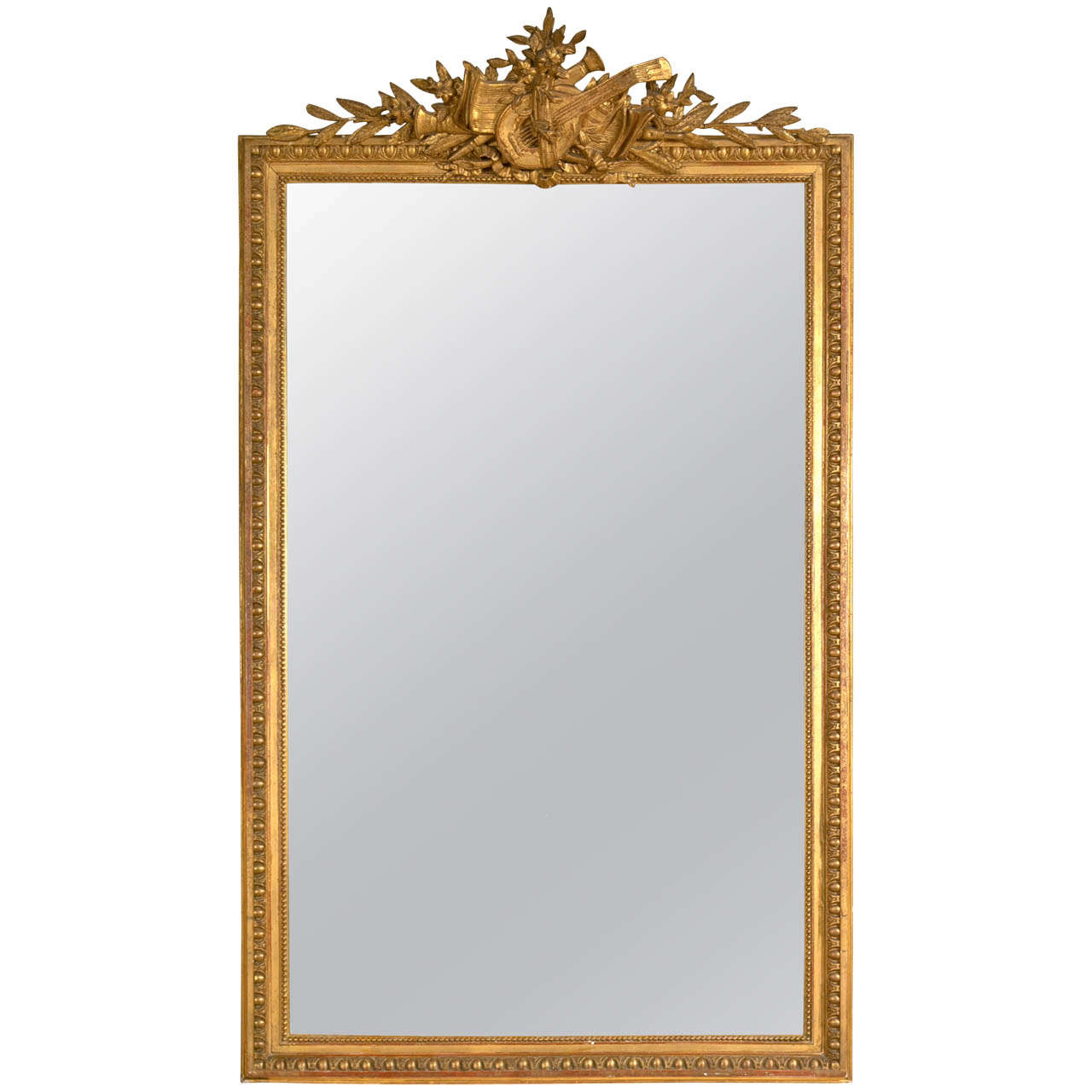 french louis xvi style gilt frame mirror at 1stdibs