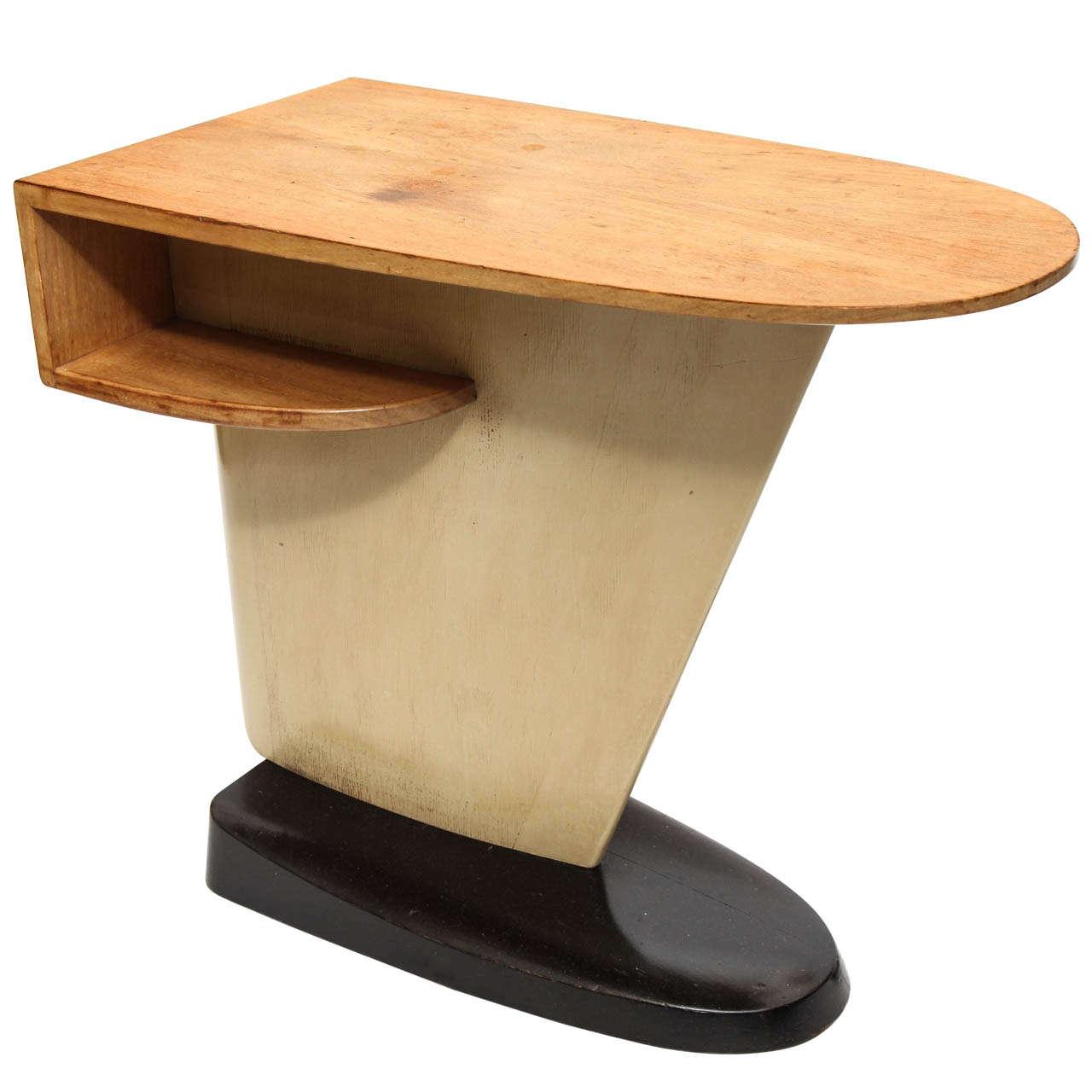 A 1930 S Streamline Table By Kem Weber Fo Mueller Furniture At 1stdibs