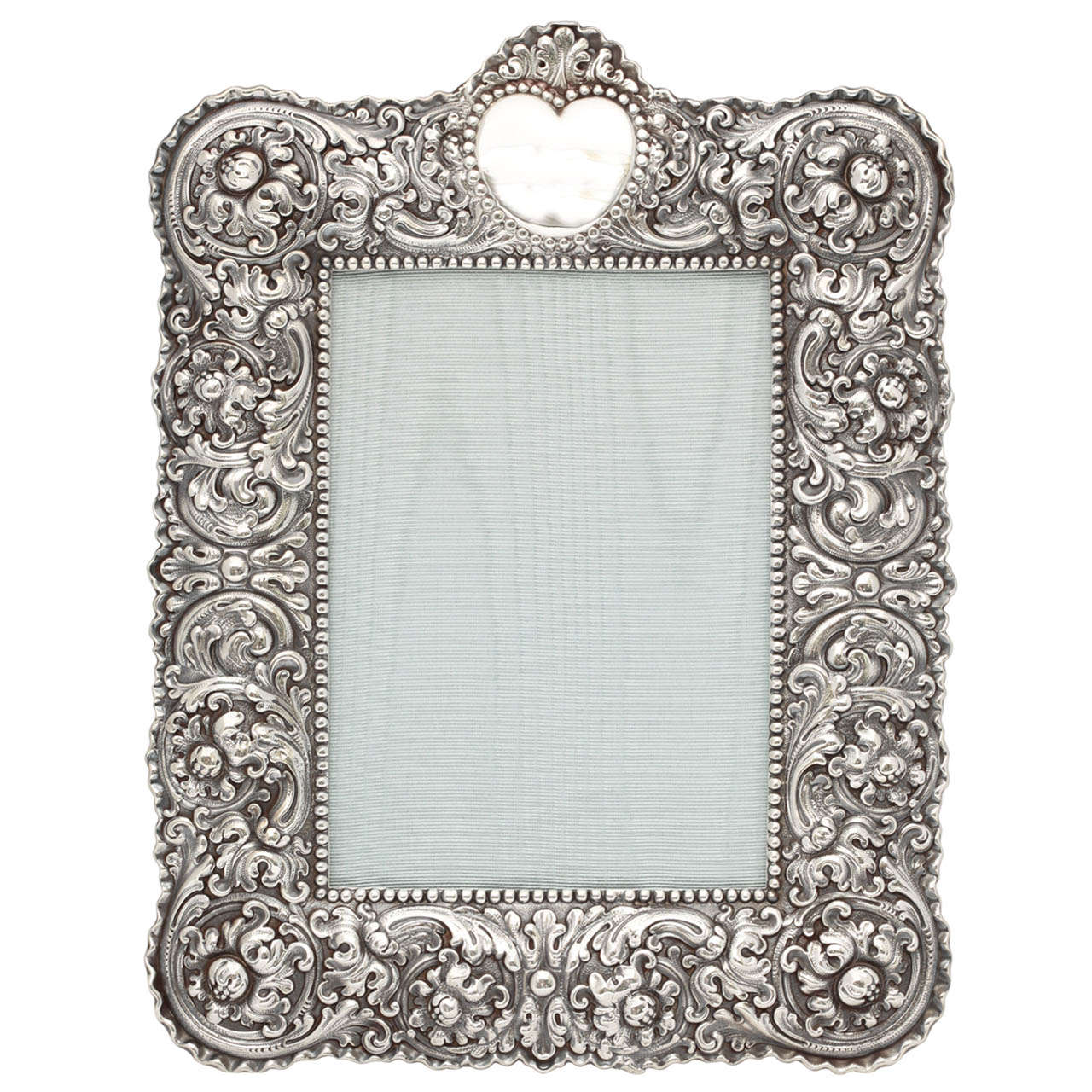 Tiffany Sterling Silver Picture Frame at 1stdibs