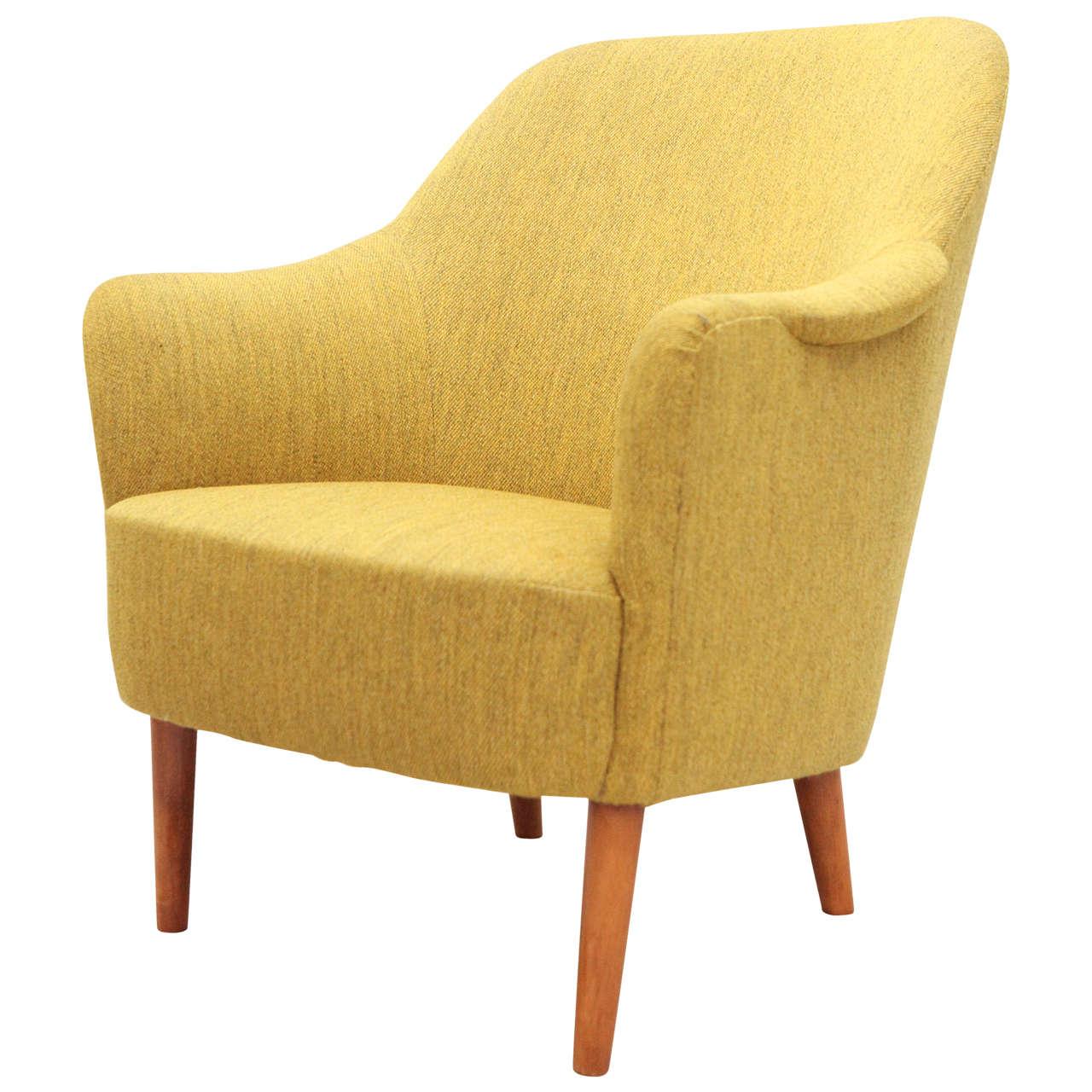 "Carl Malmsten ""Samspel"" Lounge Chair"