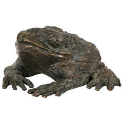 """The Toad"" 1950s Sculpture by Henri-Georges Adam"