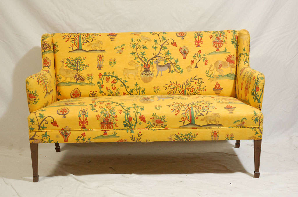 Frits Henningsen Settee.  Store formerly known as ARTFUL DODGER INC