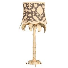 Faux Palm Tree Table Lamp