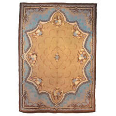 French Art Nouveau Savonnerie Carpet