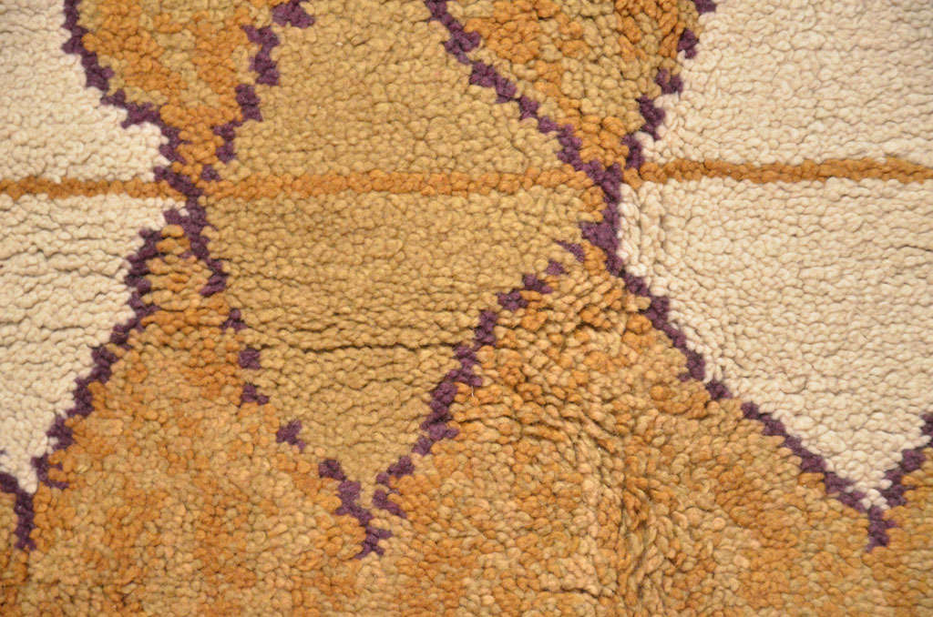 French Mid-Century Modern Wool Rug For Sale 1