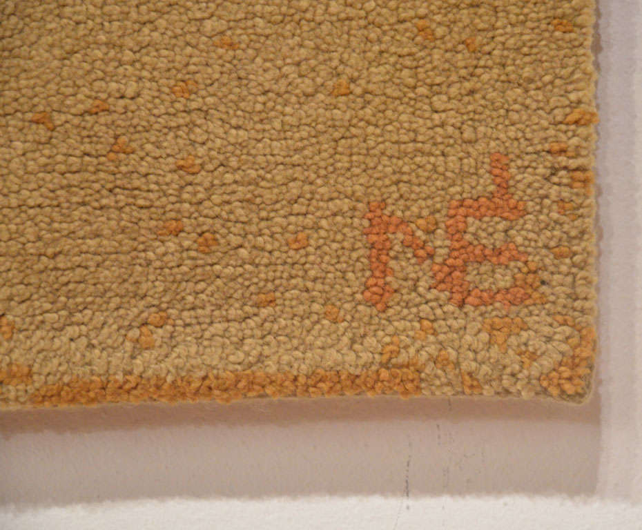 French Mid-Century Modern Wool Rug For Sale 2