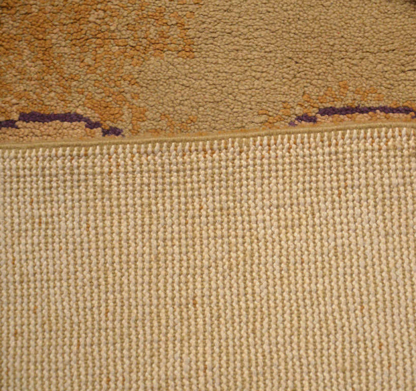 French Mid-Century Modern Wool Rug For Sale 3