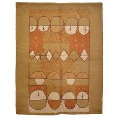 French Mid-Century Modern Wool Rug
