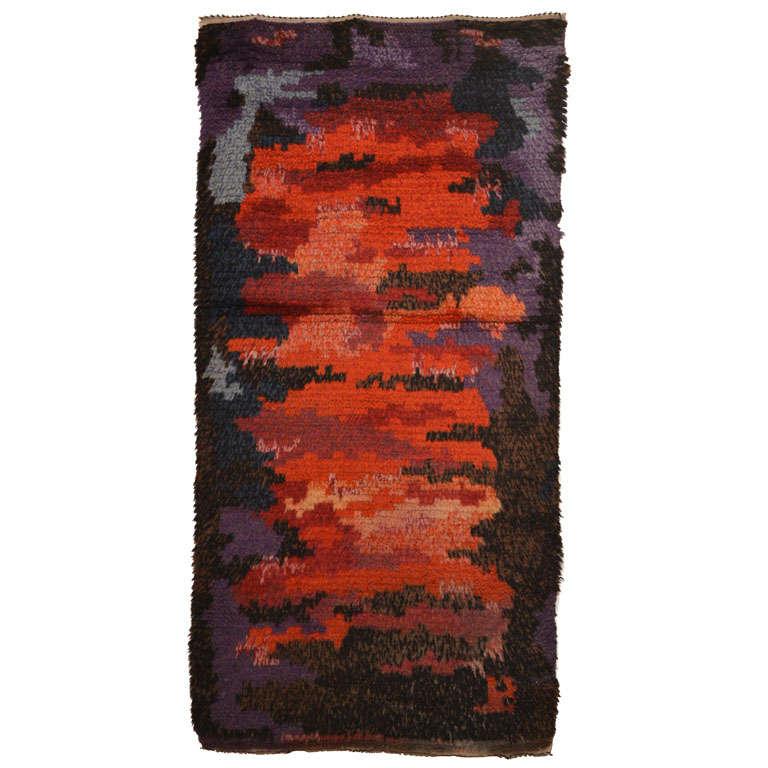 Rya Abstract Rug For Sale At 1stdibs