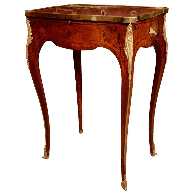 - Table de chevet louis xv ...