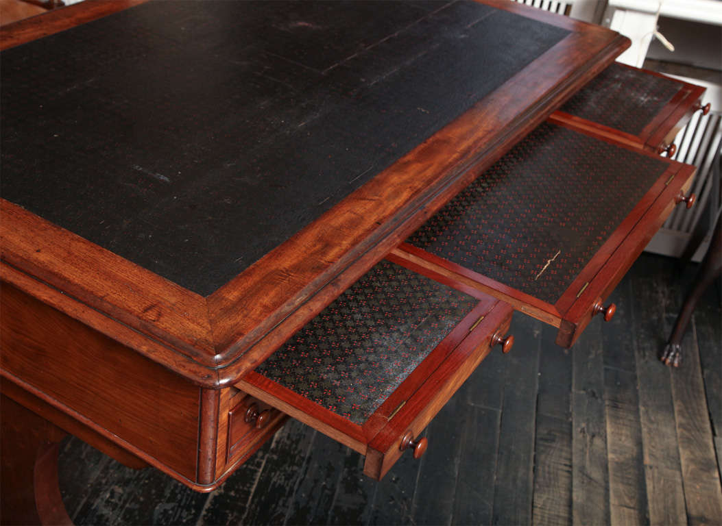 19th Century English Partners Desk For Sale 1