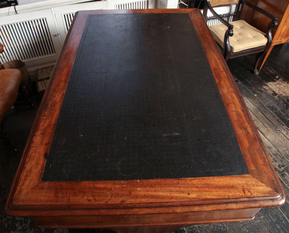 19th Century English Partners Desk For Sale 5