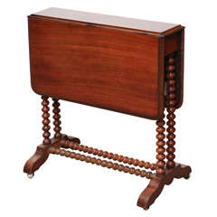 19th century English Folding Sutherland Table