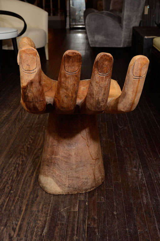 1960's Wooden Hand Chair 5