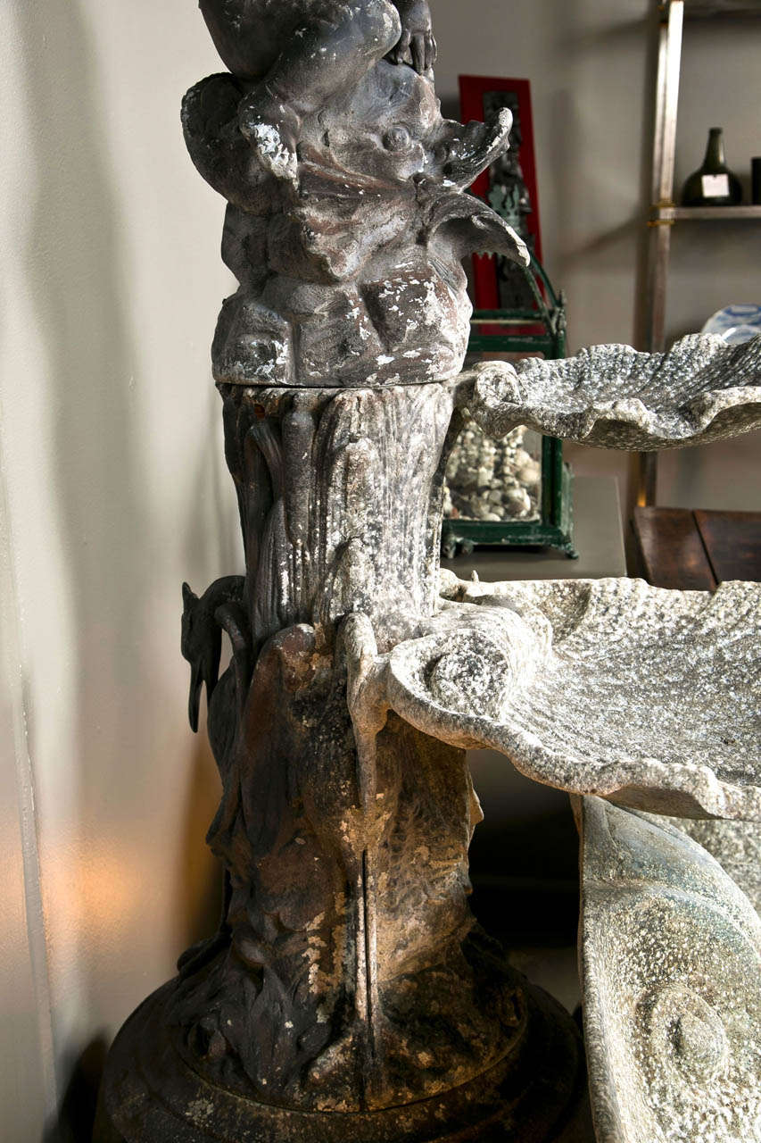 Cast Metal Fountain For Sale 4