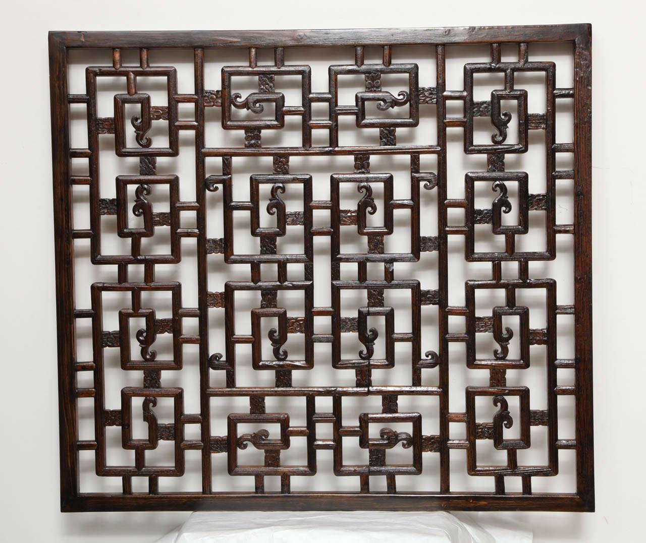 Chinese lattice panel at 1stdibs for Lattice screen