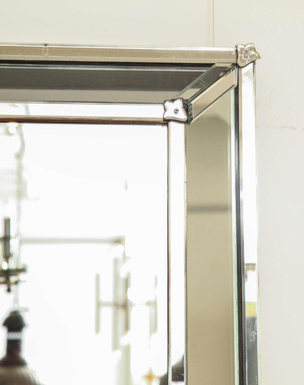 20th Century Venetian Style Rectangular Mirror For Sale