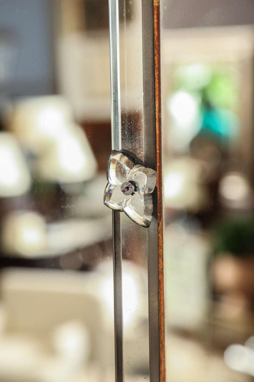 Venetian Style Rectangular Mirror For Sale 1