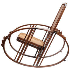"Josef Hoffmann's ""Egg"" Rocking Chair"