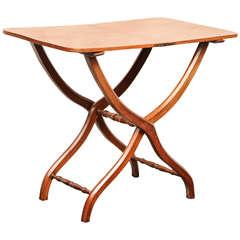 19th Century English, Mahogany Coaching Table