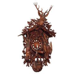Monumental Black Forest Cuckoo Clock