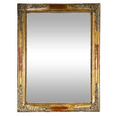 French gilded mirror, mid 19th century