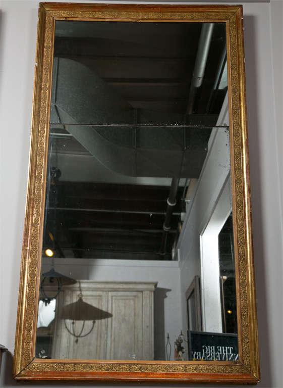 French Gilded Mirror Empire Period C 1810 For Sale At 1stdibs