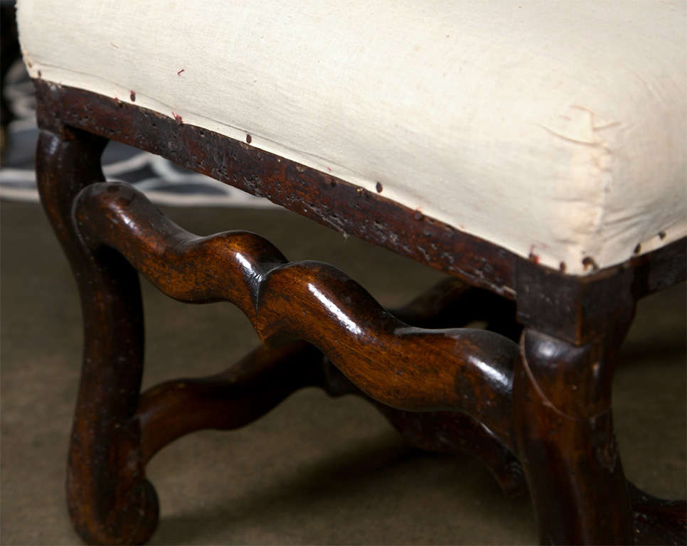 Pair of French Walnut Chairs, circa 1720 2