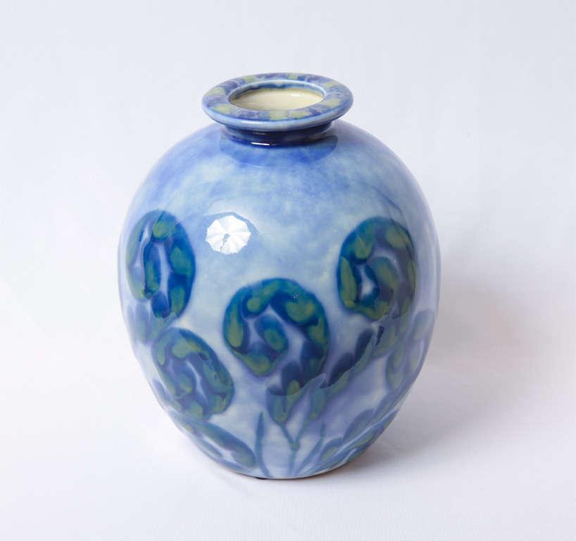 Camille THARAUD - A porcelain of Limoges Art deco vase 2