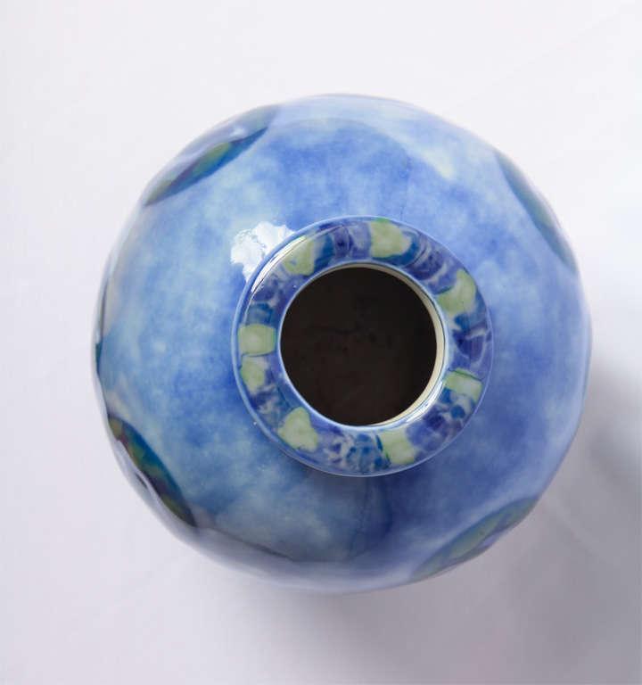 Camille THARAUD - A porcelain of Limoges Art deco vase 3