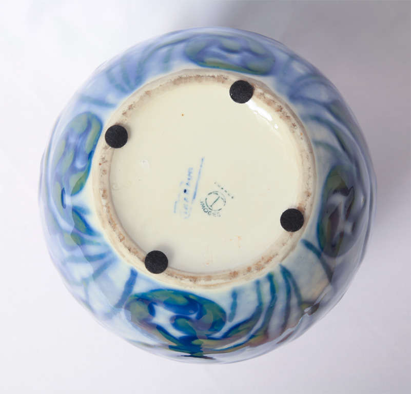 Camille THARAUD - A porcelain of Limoges Art deco vase 4