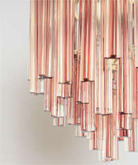Trilobo Chandelier By Venini thumbnail 2
