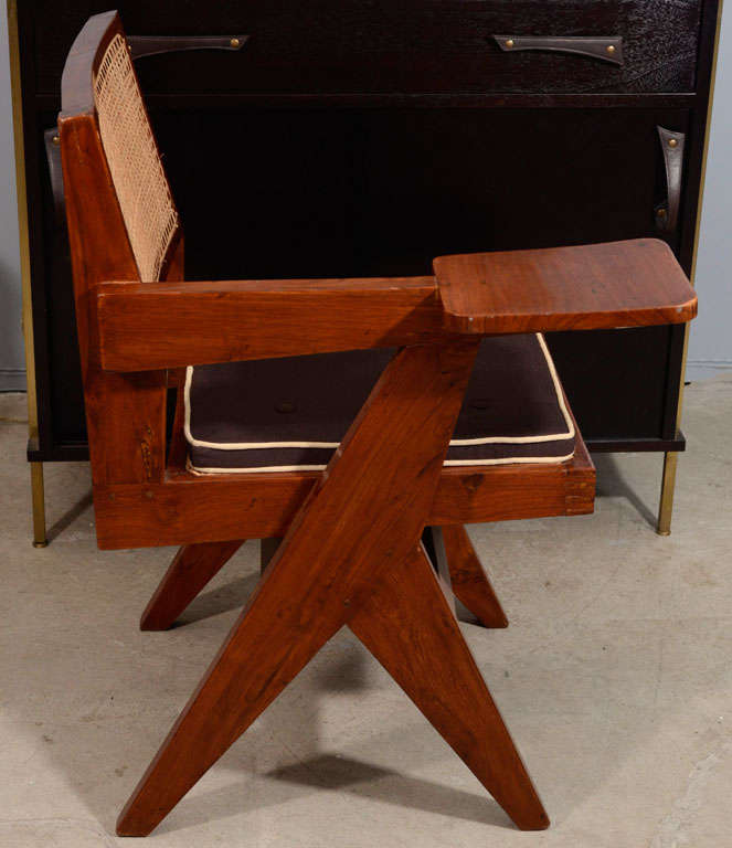 Desk Chair by Pierre Jeanneret for Punjab University For Sale 4
