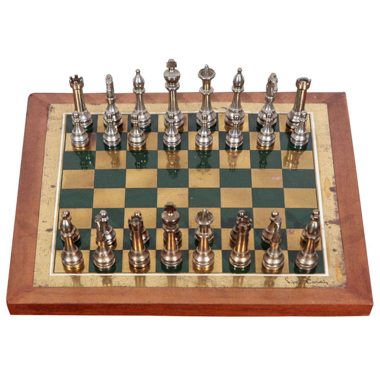Rare Pierre Cardin Chess Set At 1stdibs
