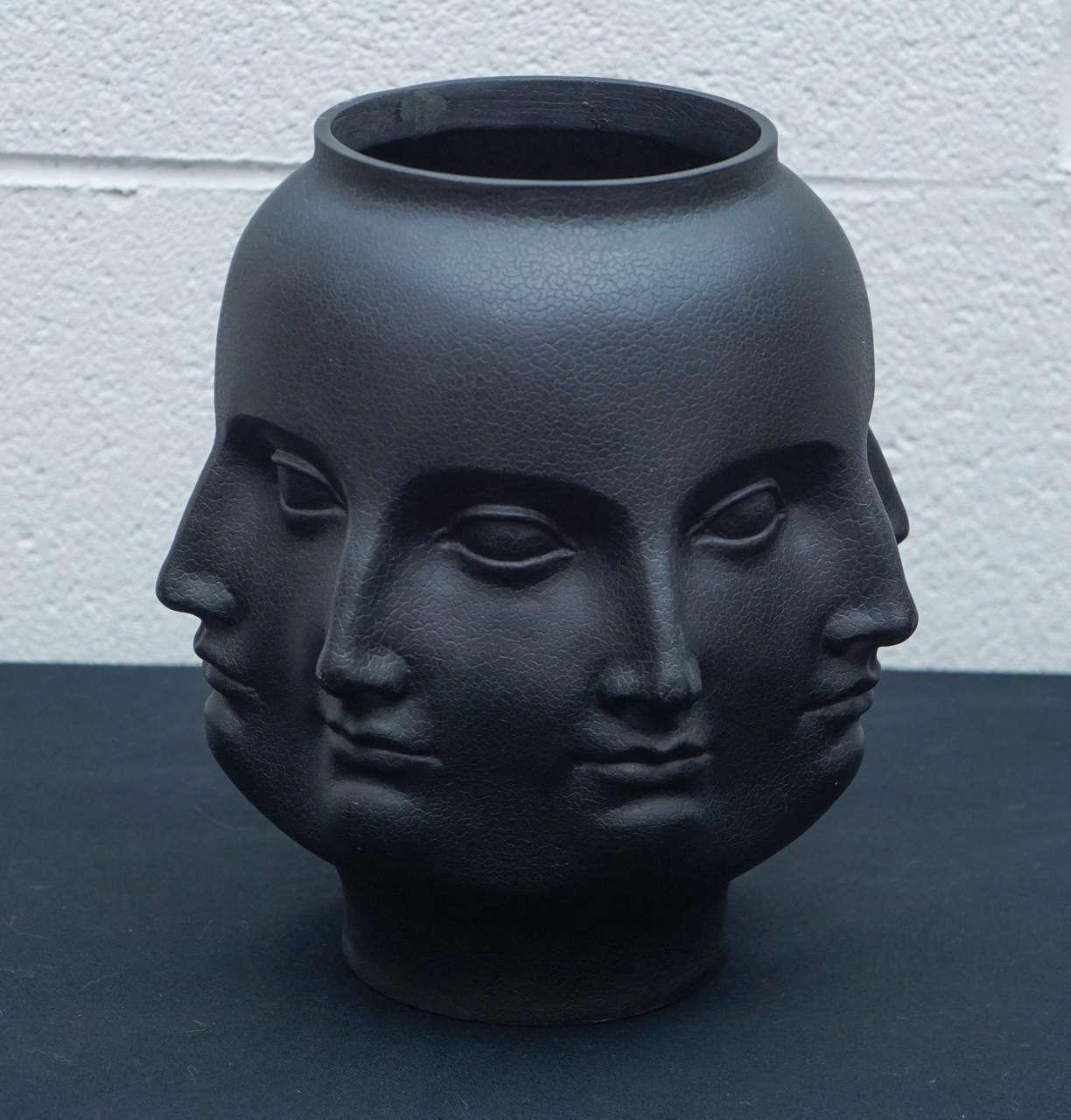 Dora Maar Vase In Black At 1stdibs