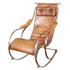 Modern French Rocking Chair