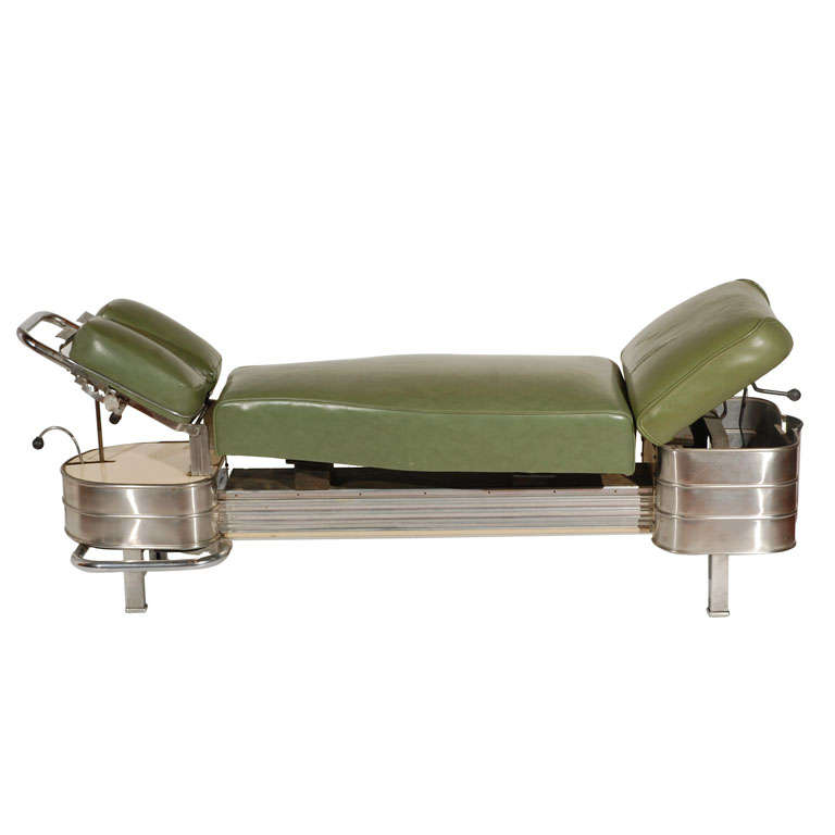 1940s chiropractor bench at 1stdibs