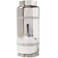 Streamline International Silver Vase / Shaker for Southern Pacific, Manner of Lurelle Guild