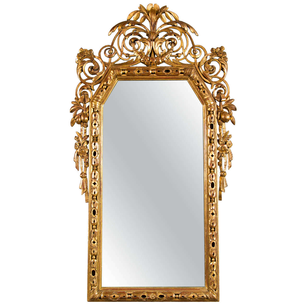 An Italian Neoclassical Mirror Late 18th Century For Sale