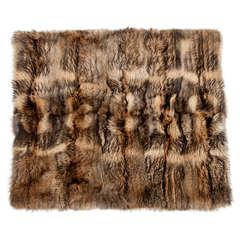 Throw, Raccoon Fur