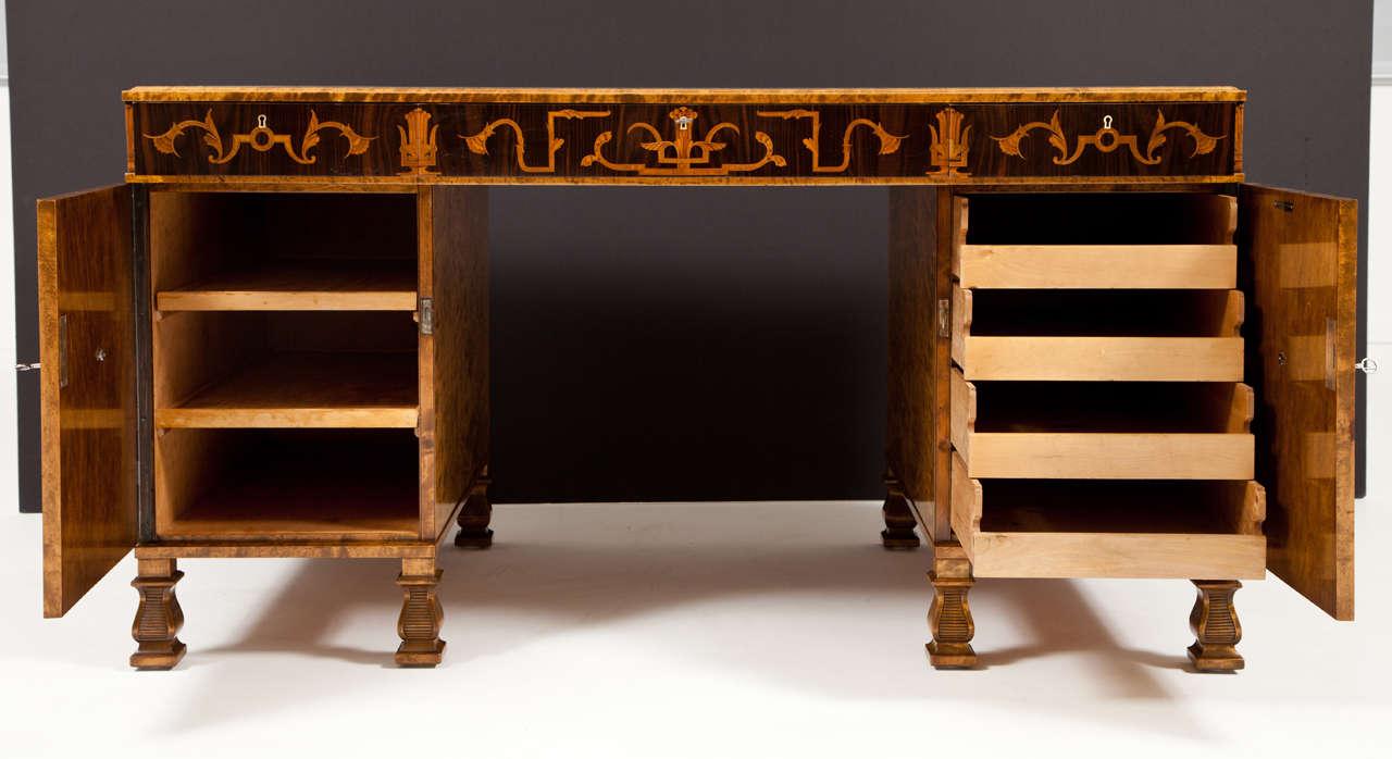 Carl Malmsten Pedestal Desk 8
